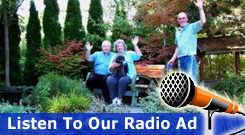 Hear our Radio Ad Promotion